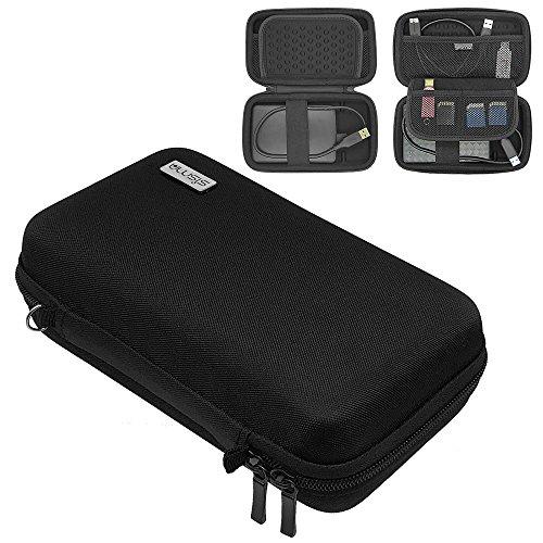 Sisma Festplattentasche Schutzhülle für Externe Festplatten 500GB 1TB 2TB Seagate WD Toshiba 2,5 Zoll HDD, schwarz SCB171101HC-S-B