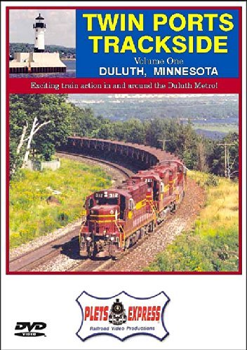 Twin Ports Trackside Volume 1 Duluth by DM&IR -