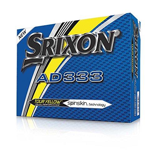 Srixon 10250959 Balle de Golf Mixte Adulte, Tour Yellow