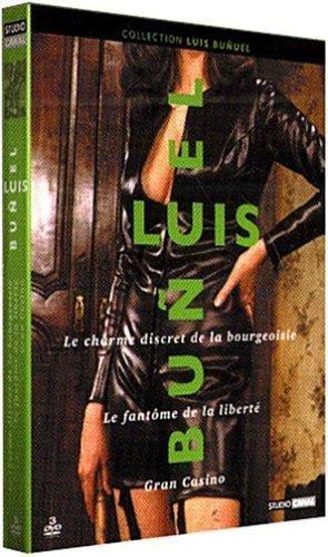 Bild von Coffret Luis Buñuel (Le Charme discret de la bourgeoisie / Le Fantôme de la liberté / Gran casino ) [3 DVD]
