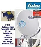 Fuba HD Sat-Anlage für 8 Teilnehmer DAA 850 G grau + Premium Octo-Switch-LNB
