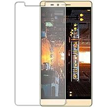 Protector de pantalla Cristal templado para Elephone Vowney l Calidad HD, Grosor 0,3mm, Bordes redondeados 2,5D, alta resistencia a golpes 9H. No deja burbujas en la colocación (Incluye instrucciones y soporte en Español)