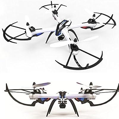 TIME4DEALS RC Quadcopter Drone con cámara WIFI FPV RTF Drone