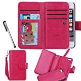 For iPhone 5 5S SE, Urvoix(TM) Wallet Leather Flip Card