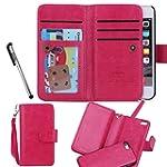 For iPhone 5 5S SE, Urvoix(TM) Wallet...