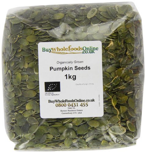 Buy Whole Foods Organic Pumpkin Seeds 1 Kg Test