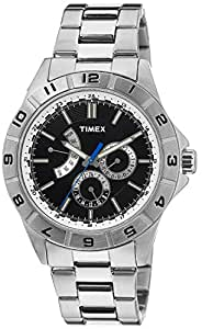 Timex E-Class Analog Black Dial Men's Watch - T2N516