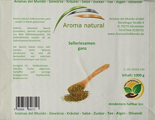 Aroma natural Selleriesamen ganz 1 kg, 1er Pack (1 x 1 kg)