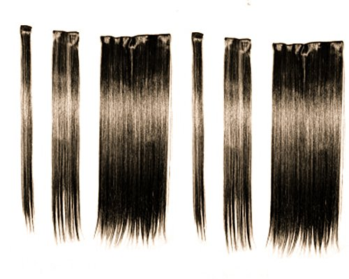 Buy hair extensions online india image collections hair buy hair extensions online cheap india image of artifice 6 pcs 14 clips based 22 inch pmusecretfo Gallery
