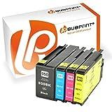 Bubprint 4x Druckerpatronen kompatibel für HP 950 951 XL 950XL 951XL für OfficeJet Pro 251dw 276dw mfp 8100 8600 8610 8620 Patronen Multipack Set