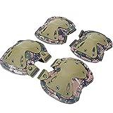 YKKHHCD Conjunto De Equipo De Protección Deportiva Entusiastas Militares Al Aire Libre Equipo De CS En Vivo Equipo De Protección Táctico Rodilleras Conjunto De Almohadillas De Codo,B