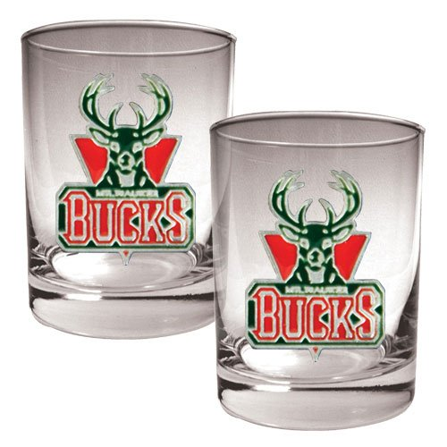 nba-milwaukee-bucks-two-piece-rocks-glass-set-primary-logo