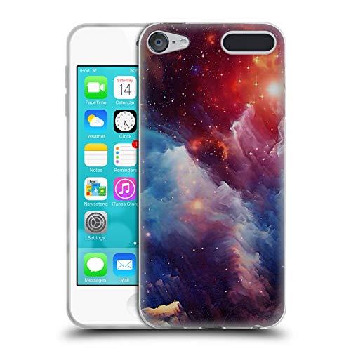 Head Case Designs Offizielle Cosmo18 Geheimnissvoller Weltraum Weltraum Soft Gel Hülle für Apple iPod Touch 6G 6th Gen - Touch Ipod Mp3-player Apple 64gb