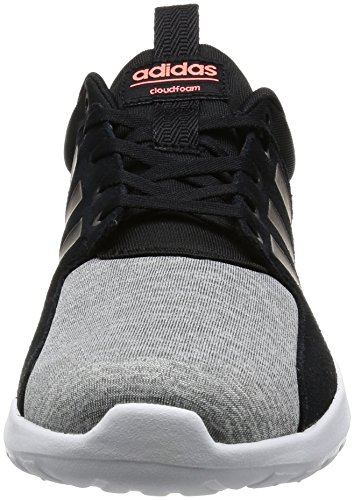 adidas Cloudfoam Lite Racer W, Sneaker Basses Femme Bleu (Onicla/negbas/brisol)