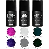 BMC Sultry 3pc Dark Thermal 2 in 1 Color Changing Gel Polish Full Master Set - Enchanted