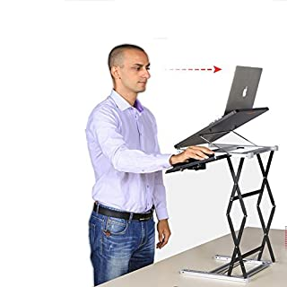 Standing Desk and Laptop Stands by Annstory, Adjustable Height 4.9