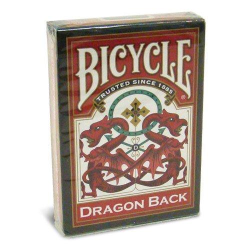 Red Rock Cascade (Fahrrad Drachen zurück Spielkarten - 1 Deck rot Bicycle Dragon Back Playing Cards - 1 Deck Red)