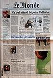 monde le no 17816 du 08 05 2002 le meurtre qui stupefie les pays bas euthanasie soupcons sur le chu de besancon proche orient la rencontre bush sharon environnement comment l animal s adapte a des milieux changeants portrait john tru