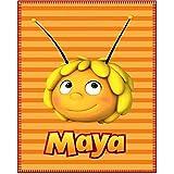 Abeja Maya–Manta de colcha/Manta de forro polar/–100x 150cm