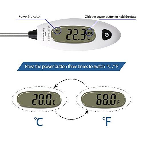 Zoom IMG-3 mycarbon termometro da cucina digitale