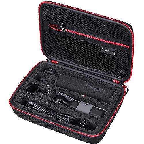 Smatree Tasche mit stoßfestem Material für DJI OSMO POCKET, Ladebox, Kabel, Wireless Module,Micro USB Adapter, und andere Zubehör