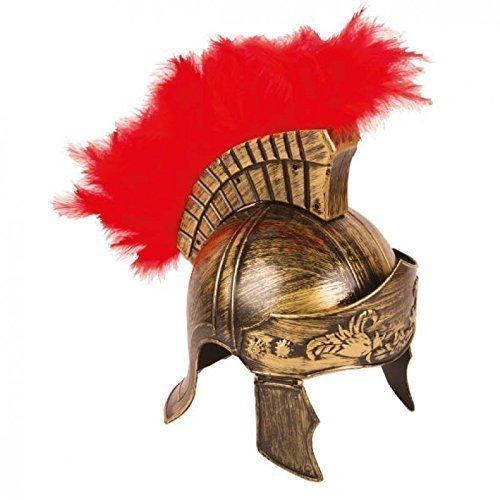 Lively Moments Römischer Helm / Römerhelm / Gladiator Kostümzubehör Römer in antikem Gold