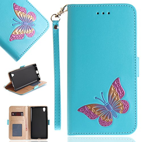 Samsung-Galaxy-A3-2017-Case-Samsung-Galaxy-A3-2017-Phone-Case-Cozy-Hut-Elegant-Fashion-Embossed-Butterfly-Pattern-Design-PU-Leather-Wallet-Case-with-Silicone-Cover-for-Samsung-Galaxy-A3-2017-Premium-F