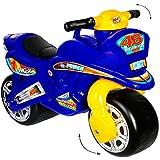 "XL Kinderlaufrad - "" Motorrad - BLAU"