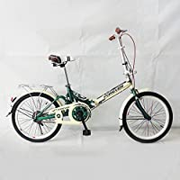 HUALQ Bicicleta Niño Adulto Choque Plegable Bicicleta Plegable Bicicleta DE 16 Pulgadas Bicicleta Plegable
