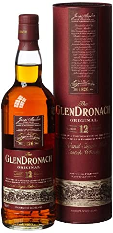 Glendronach Original 12 Jahre Single Malt Scotch Whisky (1 x 0.7 l)