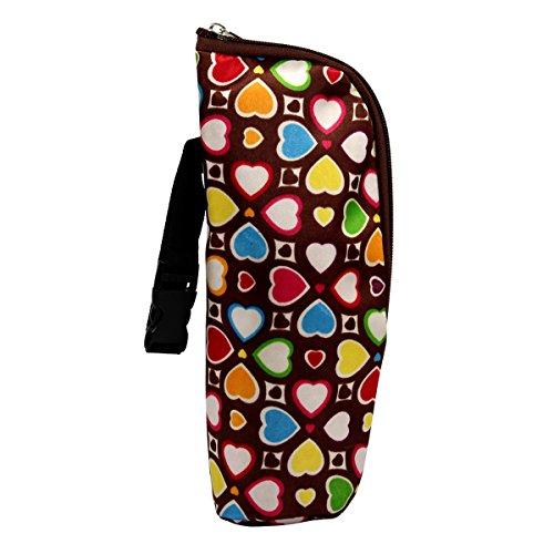 Latinaric Baby Warmhaltebox Kühltasche Isoliertasche für 350ml Milchflasche 24*8cm 8 Farbe Test