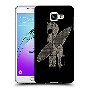 Snoogg Fish Man Designer Protective Back Case Cover For SAMSUNG GALAXY A7 2016