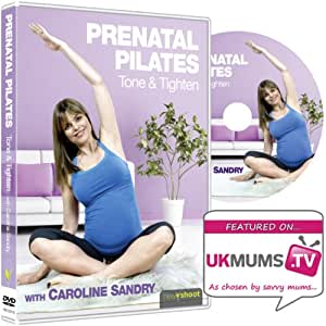 Prenatal Pilates: Tone & Tighten with Caroline Sandry