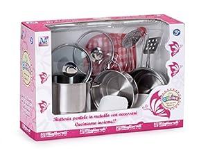 MIGLIORATI MiglioratiA213 - Set de Cocina (Metal, Incluye Accesorios)