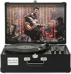 Ricatech EP1968 Elvis Presley  Tourne-disque - Noir