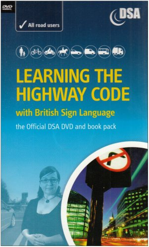 Learning the Highway Code with British Sign Language - The Official DSA DVD and Book Pack Test