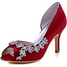 Suchergebnis Auf Amazon De Fur Brautschuhe Rot