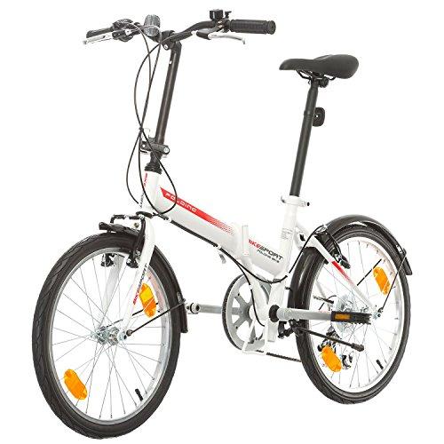 Bici Pininfarina Pieghevole Bianca.Bicicletta Pieghevole Bikesport Folding 20 Bici Pieghevole Info
