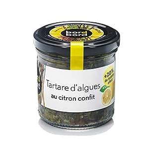 BORD A BORD - Tartare d'algue citron confit - Pot verre- (pour la quantité plus que 1 nous vous remboursons le port supplémentaire)