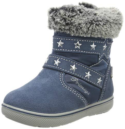 PRIMIGI Baby Mädchen PSN Gore-TEX 43642 Stiefel, Blau (Azzurro/Jeans 4364200), 27 EU -