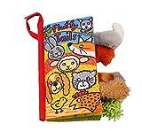Intelligenzentwicklung Tuch Cognition Buch Lernen Aktivität Tier Spielzeug für Baby