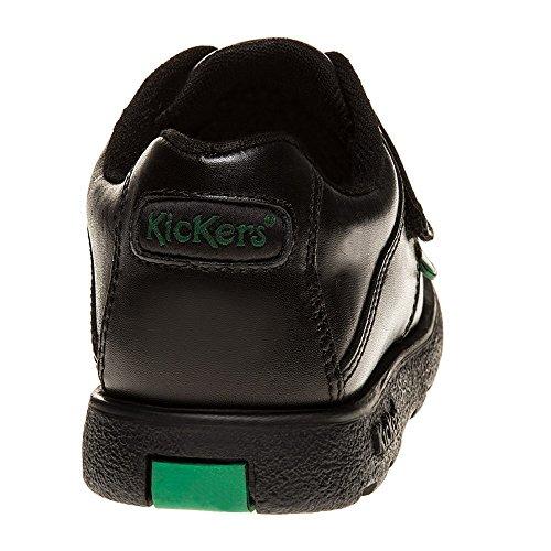 Kickers Fragma Strap Baby Schuhe Schwarz Schwarz