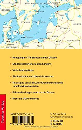 Ostseestädte - Kreuzfahrten zwischen Kiel, St. Petersburg, Stockholm und Oslo (Trescher-Reihe Reisen): Alle Infos bei Amazon