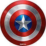 #6: PrintVoo® Superhero Captain Shield Design Mousepad