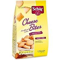 Dr. Schar Cheese Bites Galletitas Saladas - 125 gr