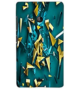 MICROSOFT LUMIA 540 PATTERN Back Cover by PRINTSWAG