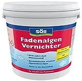 Söll 12538 FadenalgenVernichter - Besonders effizent & ergiebig - Sicher in der Anwendung - 10 kg