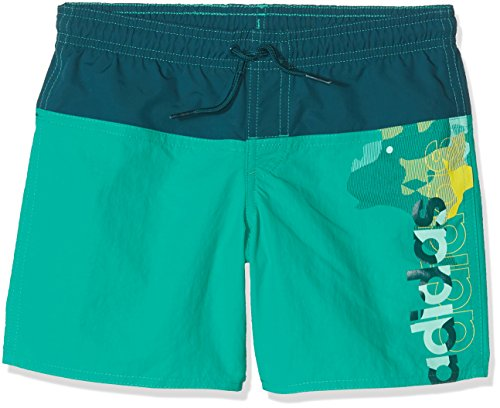 adidas Jungen Lineage Badeshorts, Core Green/Mystery Green, 152