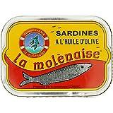 Les Mouettes d'Arvor Sardines la Molénaise 115 g - Lot de 3