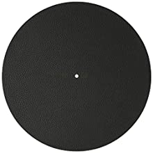 Revêtement en cuir noir optimisé pour les platines Sonic Voice. En cuir véritable pour un son clair et fin